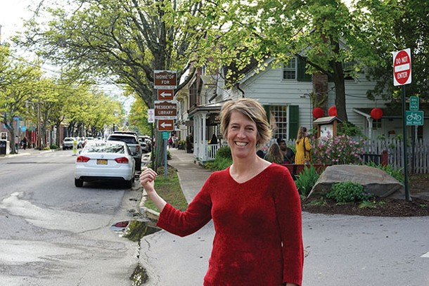 Law professor, activist, and erstwhile Congressional candidate Zephyr Teachout in Rhinebeck - JOHN GARAY