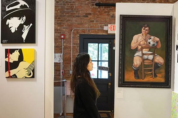 Elizabeth Olson at The Gallery @ Rhinebeck - JOHN GARAY