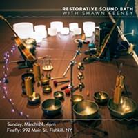 Restorative Sound Bath with Shawn Feeney
