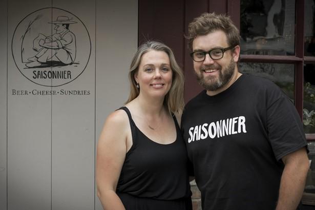 Saisonnier proprietors Kasey and Patrick Kenny. - PROVIDED BY SAISONNIER