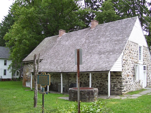 The Bevier House on Historic Huguenot Street in New Paltz. - COURTESY OF WIKIMEDIA COMMONS