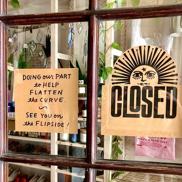 Like Lovefield Vintage, pictured above, many Hudson Valley shops and small businesses have closed their storefronts to keep everyone safe during this DCOVID-19 outbreak and are taking to the internet to keep sales going. - LOVEFIELD VINTAGE