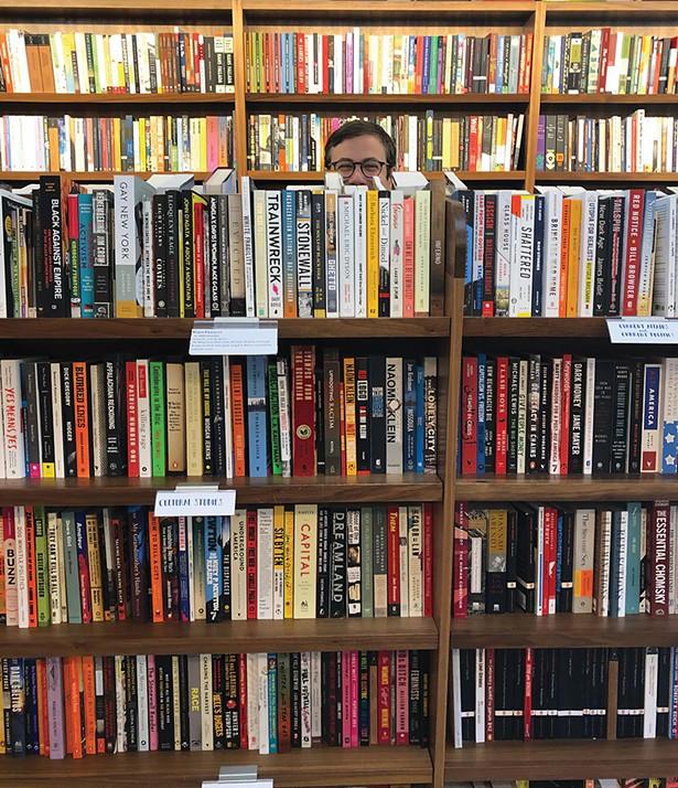 Michael Bender at Split Rock Books in Cold Spring.