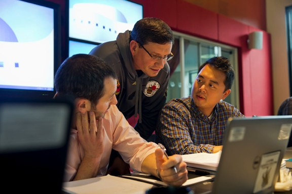 The peer-to-peer experience of students being able to learn from each other professionals is the secret ingredient in Clarkson's MSEM program. - STEVE JACOBS