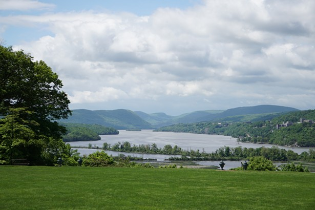 View of the Hudson River from the Boscobel grounds - LAUREN DAISLEY