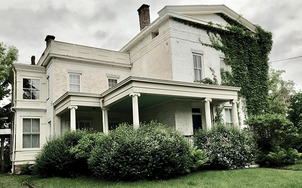 Carol McCranie and Javier Magri's 4,500-square-foot home was built in the 1840s by prominent Hudson attorney Nathan Chamberlain.