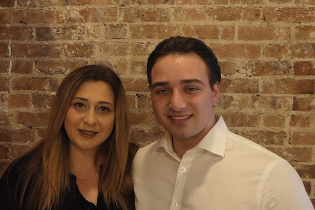 Josephine and James Bruzzese in their Brooklyn home in late May. Second-year medical student James Bruzzese reached out to his mentor, Dr. Richard Horowitz of Hyde Park, to help cure his mother's bout with COVID-19 by nontraditional means.