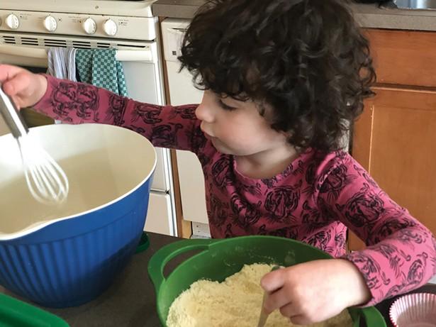 Dahlia Graham's three-year-old Zooey.