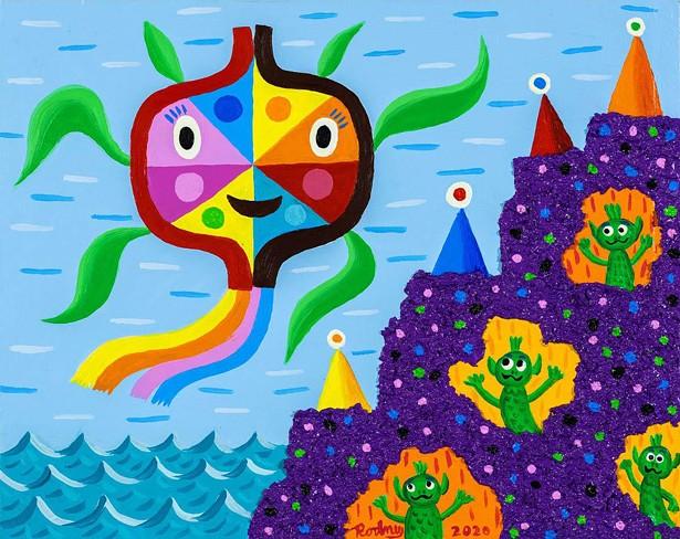 Art by Rodney Allen Greenblatt