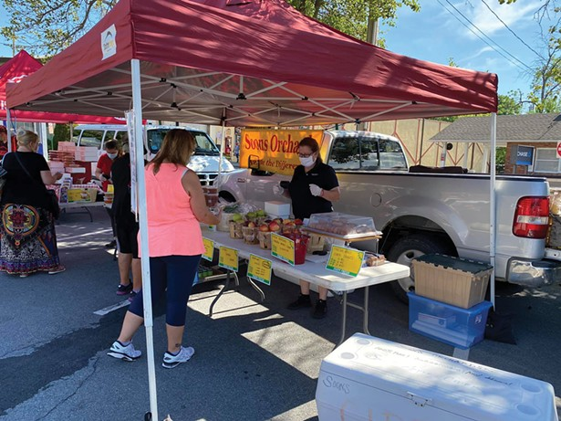 Warwick Valley Farmers' Market - PHOTO:BEA ARNER/WARWICK VALLEY CHAMBER OF COMMERCE