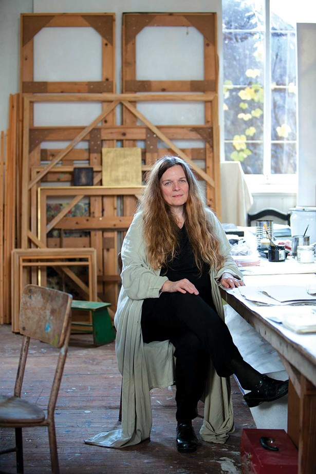 Julie Hedrick, Kingston Distinguished Artist Awardee and Kingston Annual 2020 curator. - PORTRAIT BY ROBIN HOLLAND