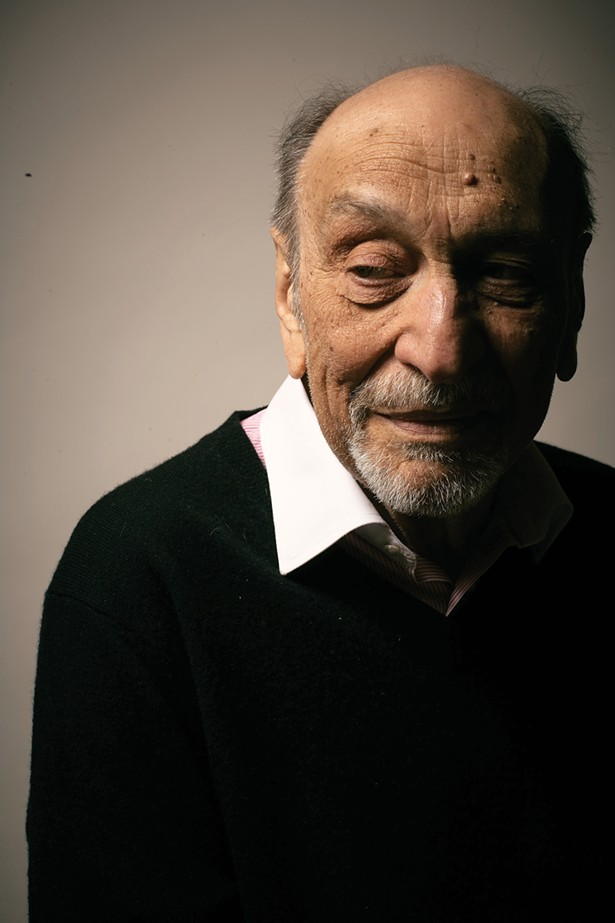 """The photo of Milton Glaser on the cover was taken by Franco Vogt, a frequent Chronogram contributor, in 2012 for a short-lived magazine called """"Generations."""" Franco says of the shoot: I met Milton at his studio in New York City for what was to be one of my briefest shoots. He was congenial enough but suffered no fools. After maybe 12 frames, he issued that we were ready to move on to the next set up. I spent maybe 10 minutes with him total and was - fairly intimidated the entire time."""" - PHOTO BY FRANCO VOGT"""
