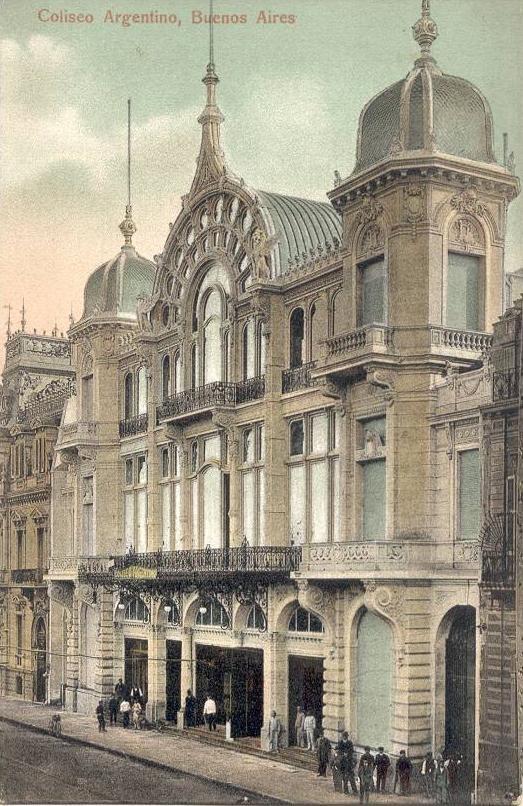 Teatro Coliseo, circa 1910