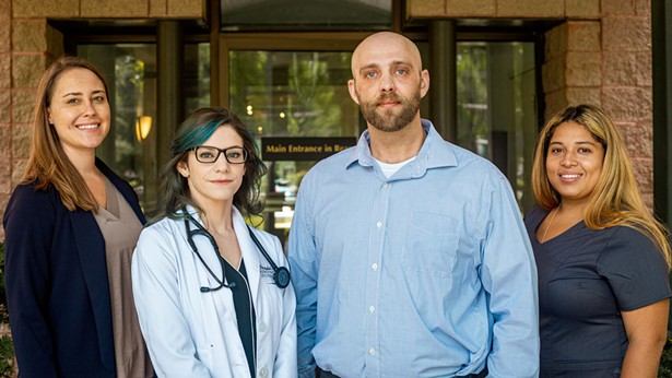 The team at Dr. Dunham Integrative Family Health - FAIELLA STUDIOS