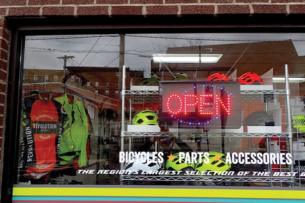 Revolution Bicycles in Kingston has seen a boom in business due to the pandemic.