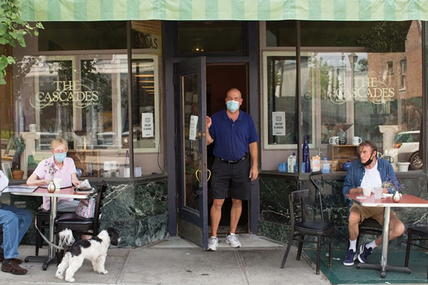 Bob Lucke, owner of Cascades a long-time favorite restaurant of locals. - PHOTO BY ANGELINA DREEM