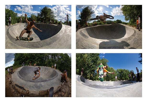 Photos of Chemi Rosado-Seijo's Mahican Pearl-Hole - (The Mahican Bowl), which opened on July 27. - BRYAN ZIMMERMAN