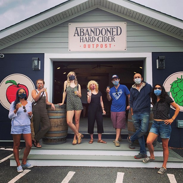 Abandoned Cider opened a tasting room on Route 28 outside Woodstock in the midst of the pandemic.