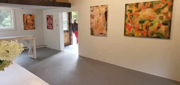 """The latest private show in the barn: """"Selected Works, 2016 - 2019, Marilyn Gold"""""""