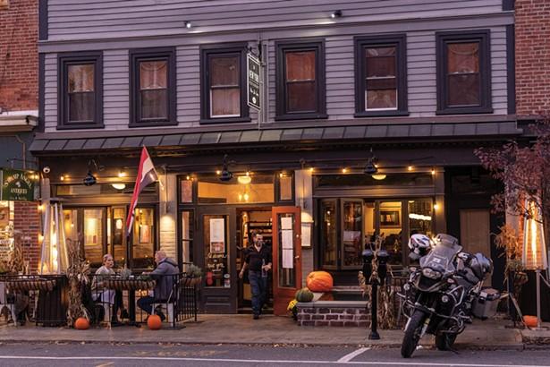 New York Restaurant serves Polish-influenced American cuisine on Main Street. - PHOTO BY ALON KOPPEL