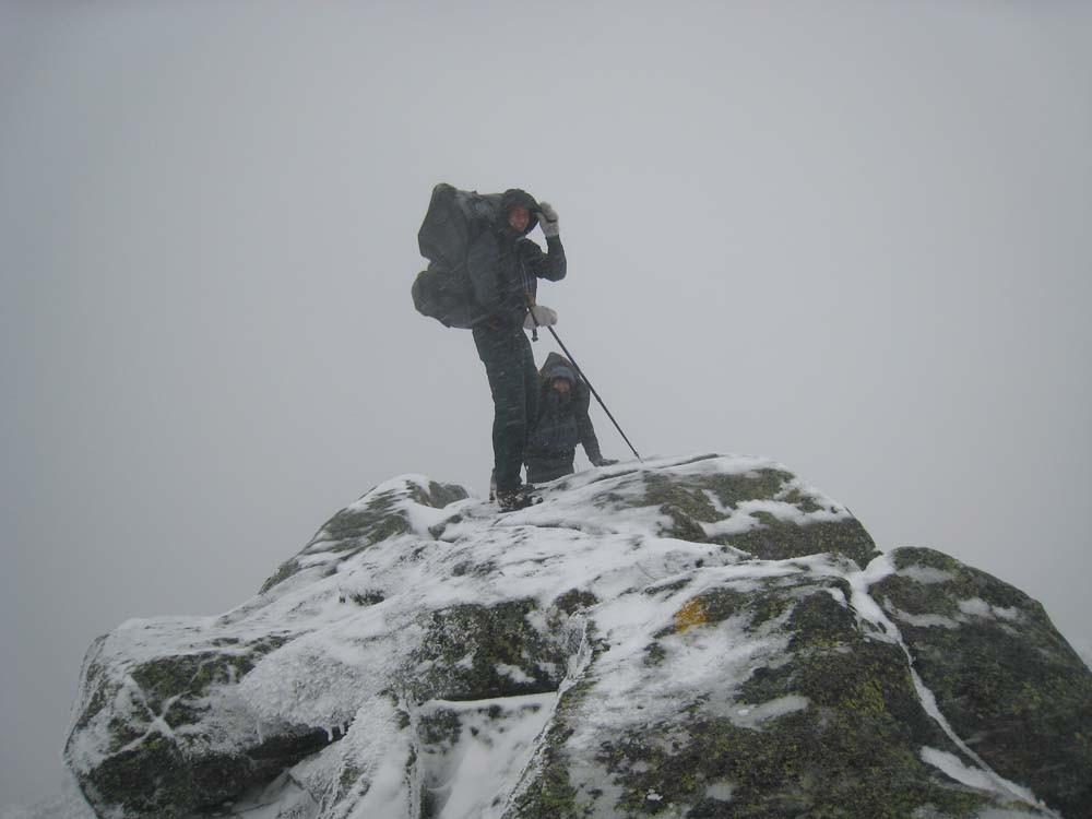 Ian Halim and Adam Ovadia hiking in the Adirondacks. - BRIAN BULTHUIS
