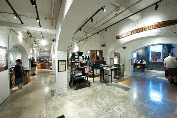 The Canna Provisions dispensary in Holyoke, Massachusetts. If recreational marijuana is legalized in New York, consumers might be able to shop in weed in swank boutiques like this one. - PHOTO BY MELISSA OSTROW