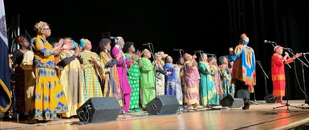 The Hudson Valley Gospel Festival Community Choir