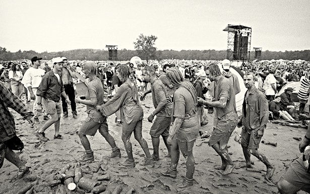 Woodstock `94 in Saugerties, where Peter Gabriel was the festival's closing act.