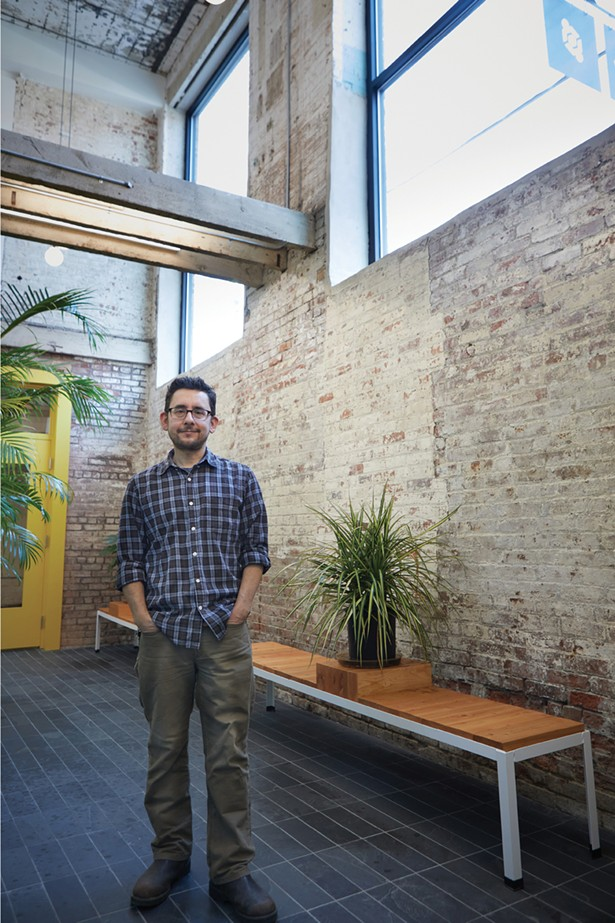 Sisha Ortuzar, developer of Wireworks, a recently opened mixed-use space at 109 South William Street. - DAVID MCINTYRE