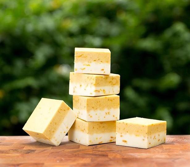 Calendula dandelion soap from SallyeAnder