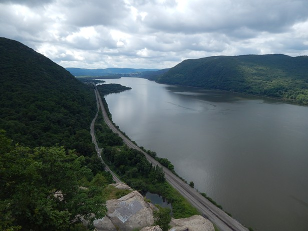 The Hudson River looking south from Breakneck Ridge in Cold Spring. - ROGER HANNIGAN GILSON