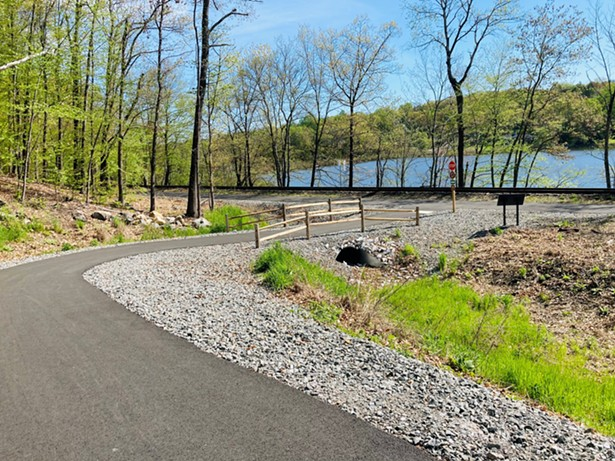 Part of the Empire State Trail, the Maybrook Trail stretches from Brewster to Pawling - ALL IMAGES COURTESY OF PUTNAM COUNTY TOURISM