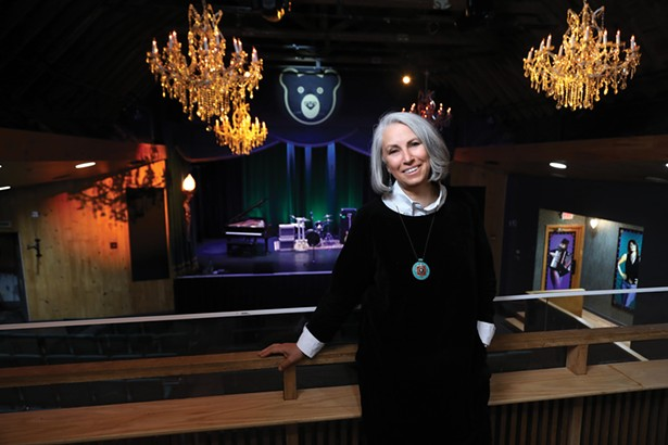 Lizzie Vann purchased the Bearsville Theater complex Labor Day Weekend 2019 and has been renovating the space.