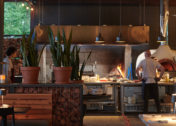 Silverman at work in the kitchen. - ©JANE BEILES
