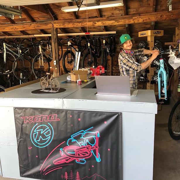 IMAGES COURTESY OF OVERLOOK BICYCLES