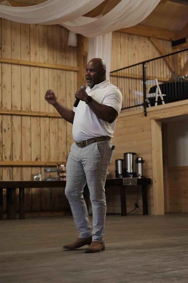 Entreprenuer Ruben Lindo organized the event under his cannabis lifestyle brand, Herbn Couture. - ROY GUMPEL