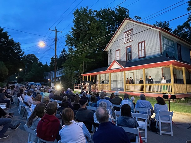 This summer's production of Our Town at the Phoenicia Playhouse - PICTURE BY ALLEN VELLA