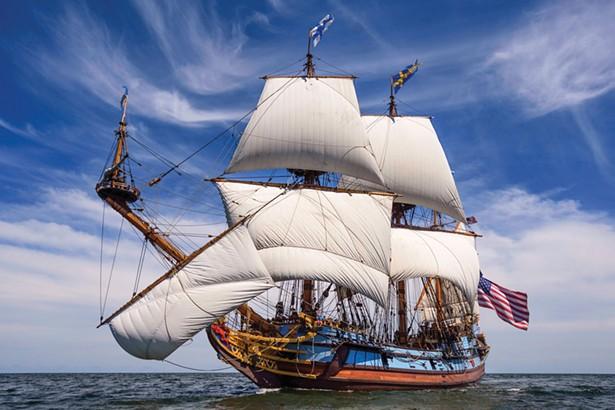 Tall Ship Kalmar Nyckel returns to the Hudson River Maritime Museum Agust 21-28.