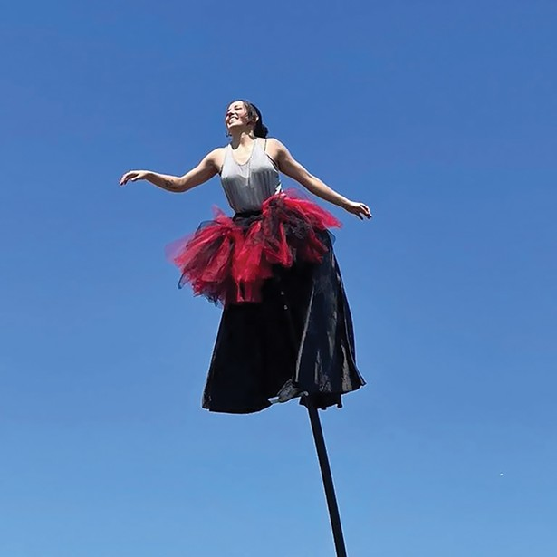Bindlestiff Family Cirkus performs at Opus 40 August 14 and September 11.