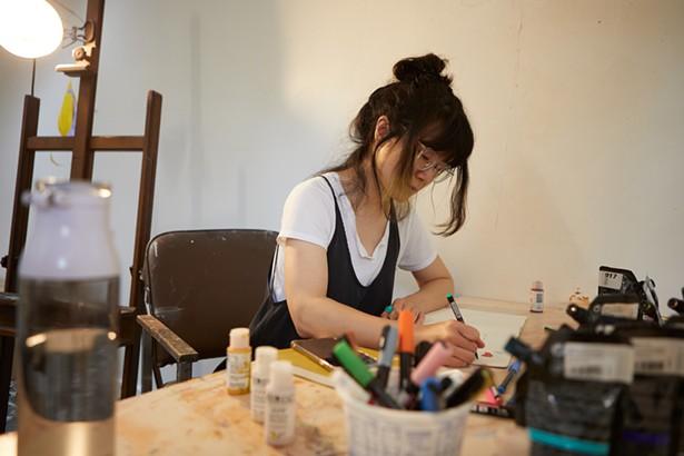Artist in Residence Fei Li - DAVID MCINTYRE
