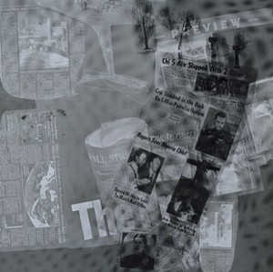 Surface Series from Currents #43 by Robert Rauschenberg, 1970