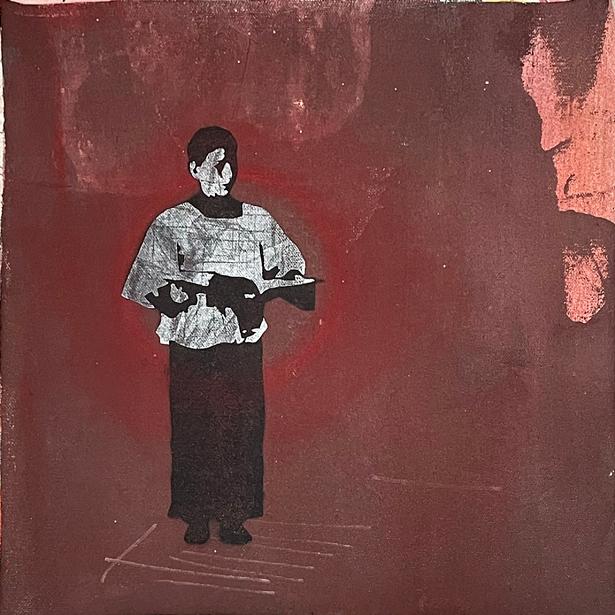 "Tom McGill, ""Altar Boy"" - IMAGES COURTESY OF 2ECOND SATURDAY GALLERY CRAWL"