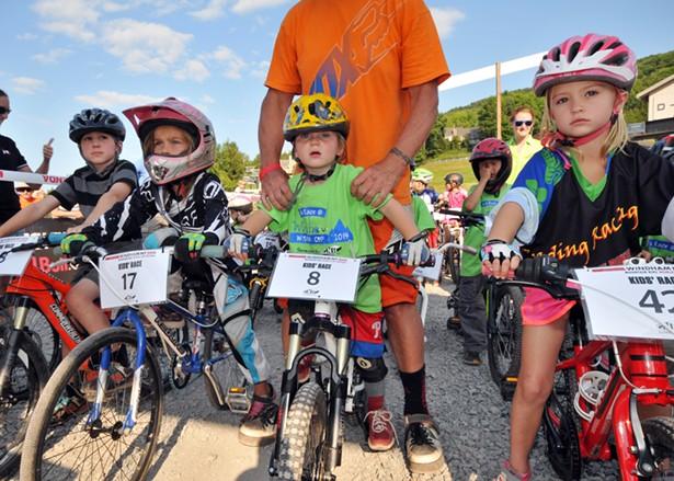 Racers in the GNH Lumber Kids' Race - DAVE KRAUS, KRAUSGRAFIX.COM