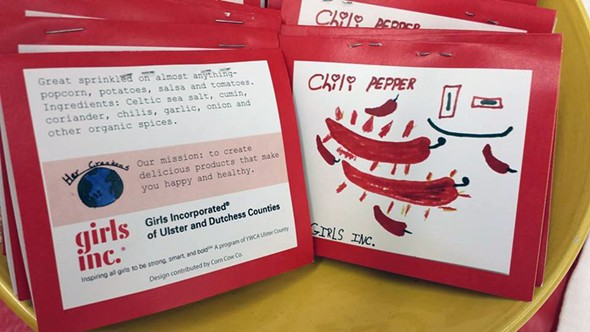 Spice packets created by girls in the Girls Inc. entrepreneurship program - ANDREA PARK
