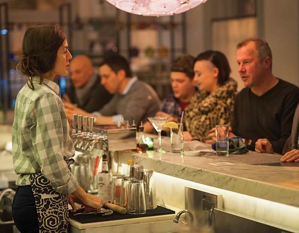 The bar at The Corner - ROY GUMPEL