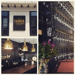Wm. Farmer & Sons offers casual dining and lodging in a newly renovated 1830s historic building.