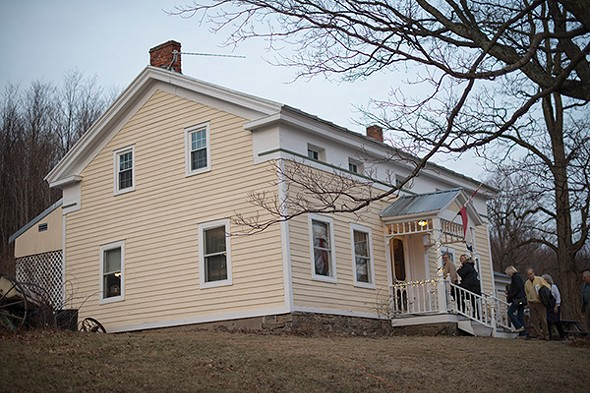 The modernized Heather Ridge farmhouse retains its 1820s looks and charms. - JIM MAXIMOWICZ