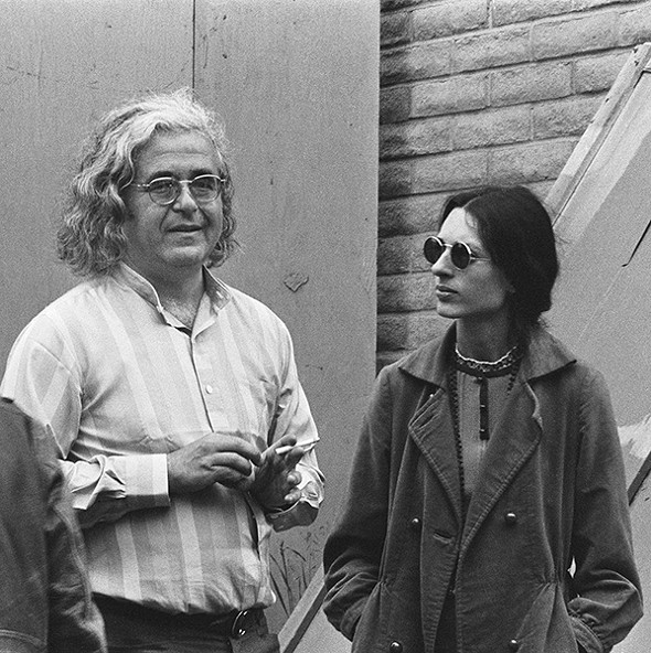 Albert and Sally Grossman at the Monterey Pop Festival in California, June 1967. - LISA LAW