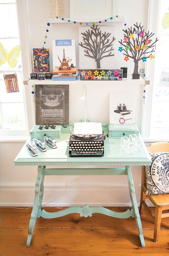 Merrily Paper Boutique in Sugar Loaf. - CHRISTINE ASHBURN