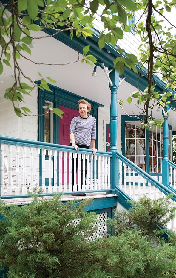 Beth DuCharme Duke at My Sister's Closet in Sugar Loaf. - CHRISTINE ASHBURN
